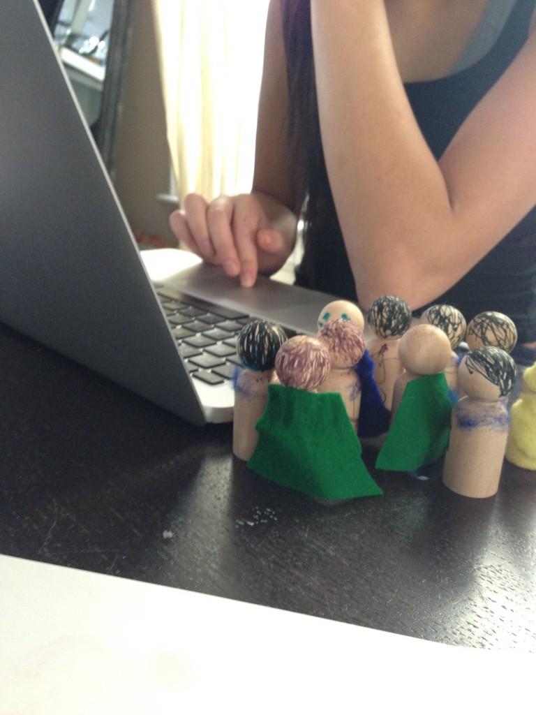 gnomes watching aj