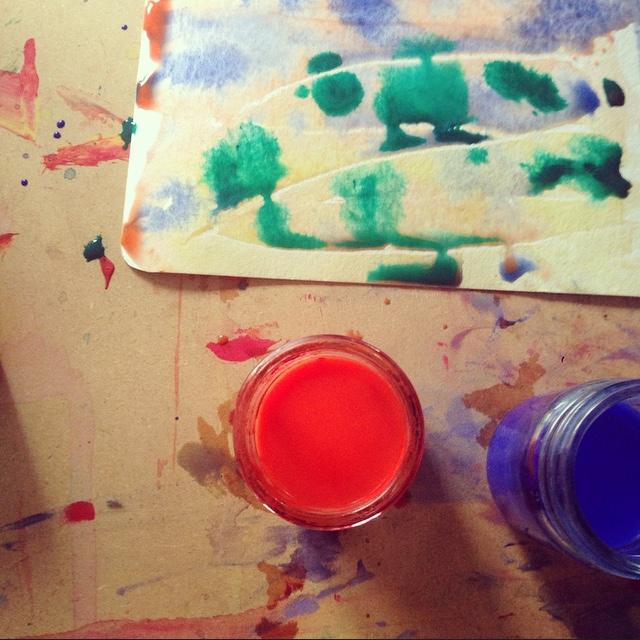 Q Watercolour