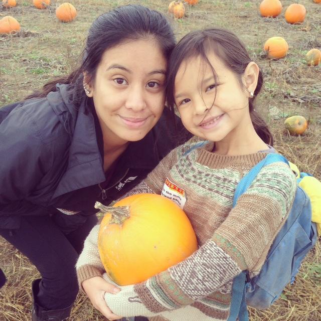 M and A pumpkin