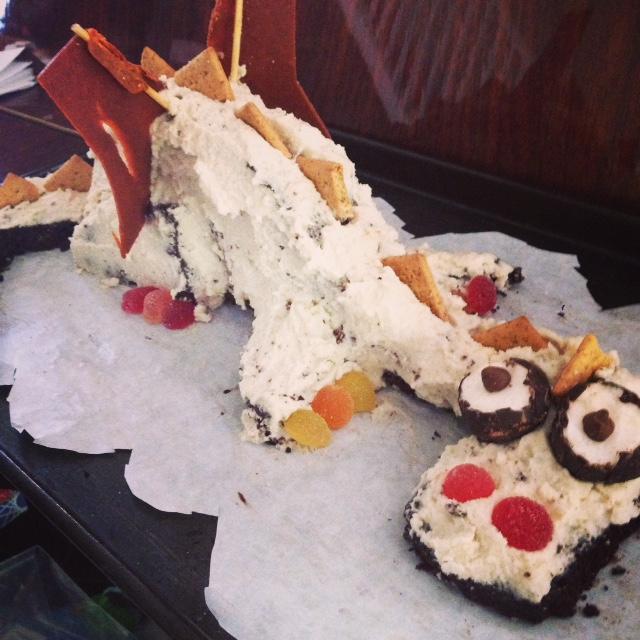 michaelmas dragon cake2