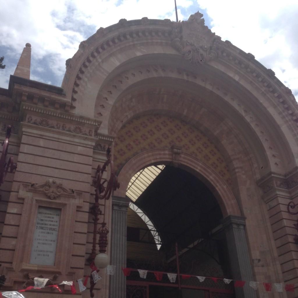 flea market outside