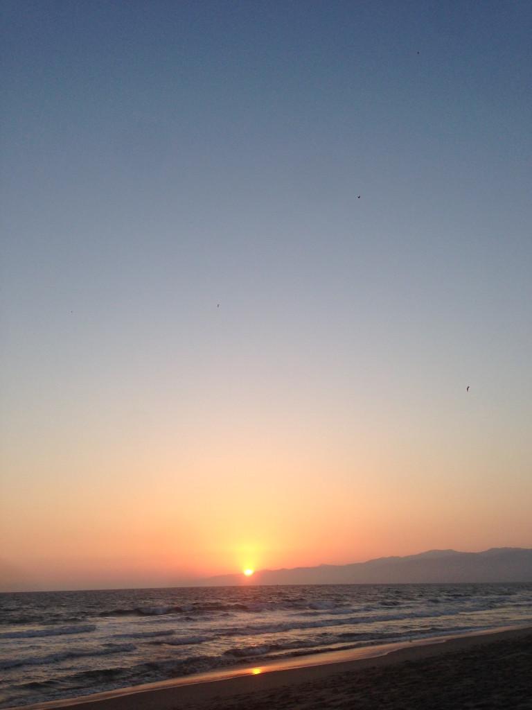 Pacific Coast Sunset Aug 20