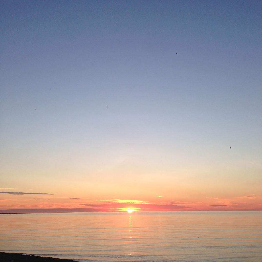 Sunrise August 7 2015