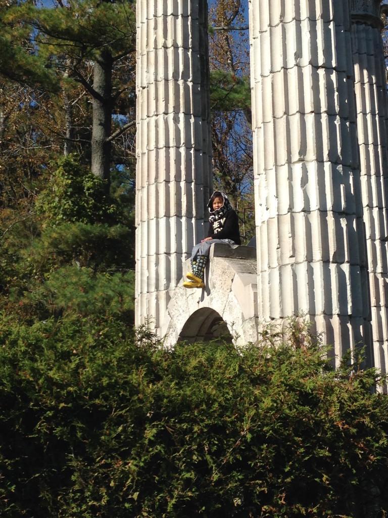 arch climbing